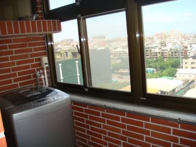 客座教授宿舍5號11樓 洗衣陽台