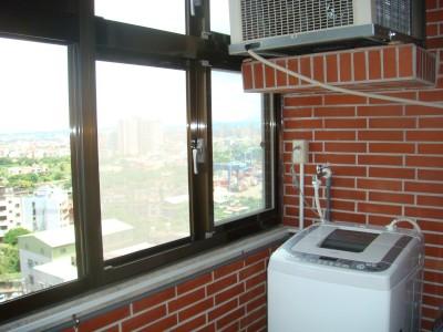 客座教授宿舍7號11樓 洗衣陽台
