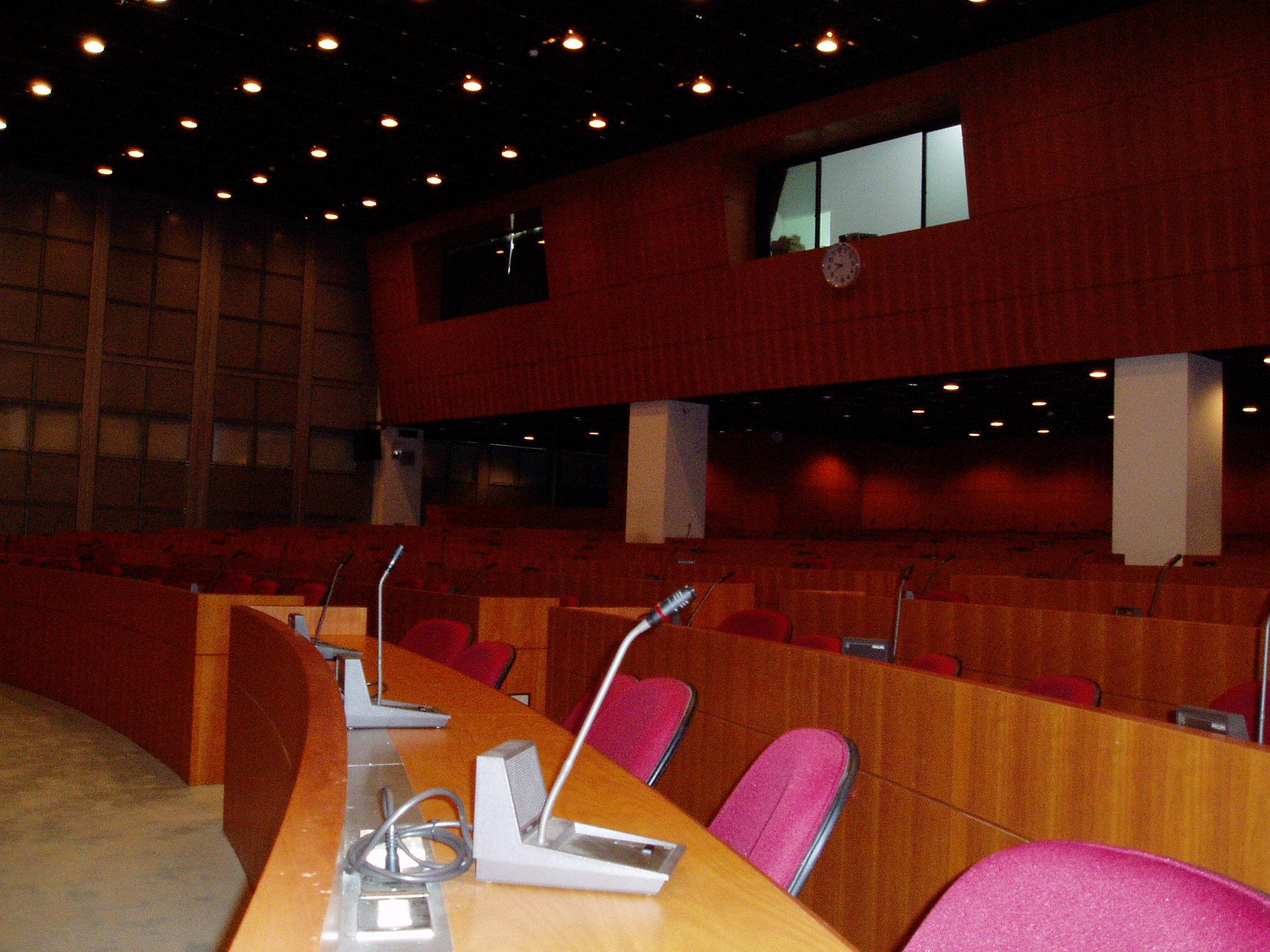 彥公廳-座位